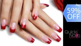Quick Nails Colour Bar Set De Uñas Acrílicas French O